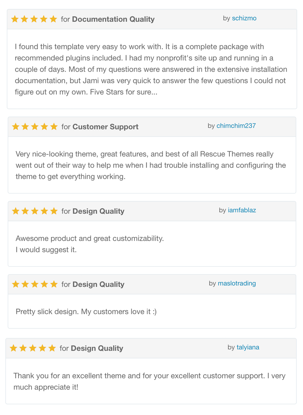Reviews of Advocator WordPress theme